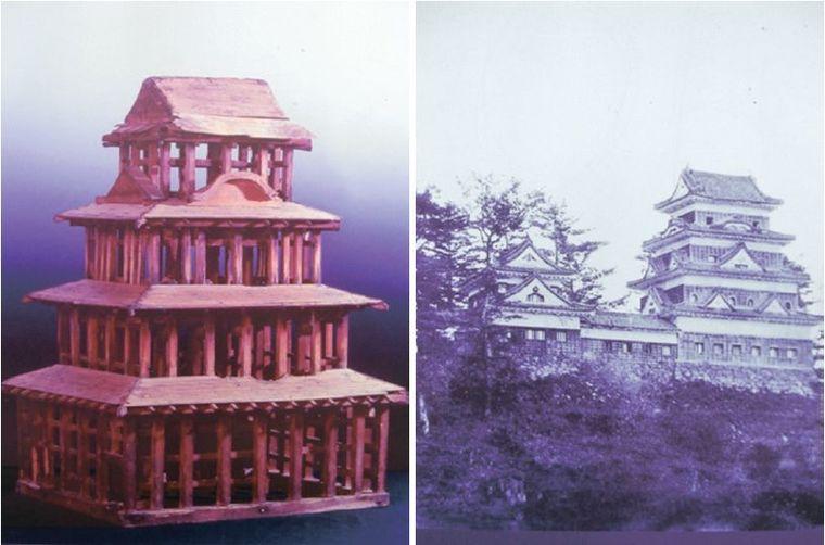 木结构建筑复原记:日本大洲城天守阁修